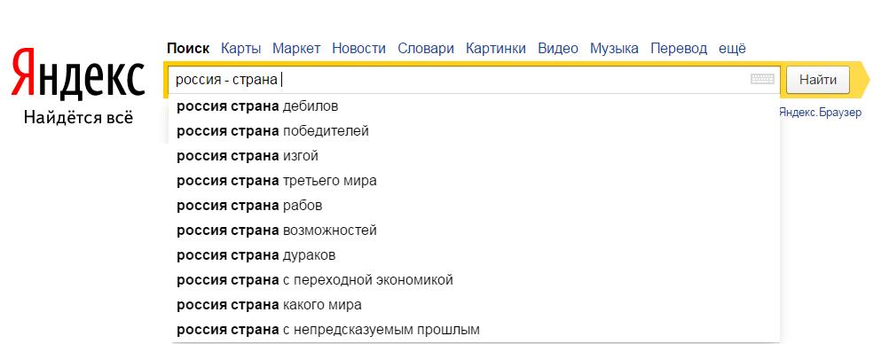 Яндекс тесты на русском языке