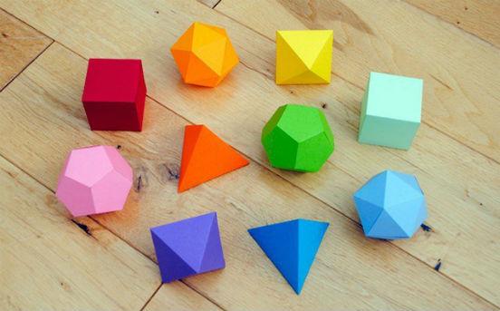 Действия с геометрическими фигурами