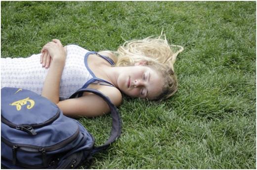 спящий студент фото